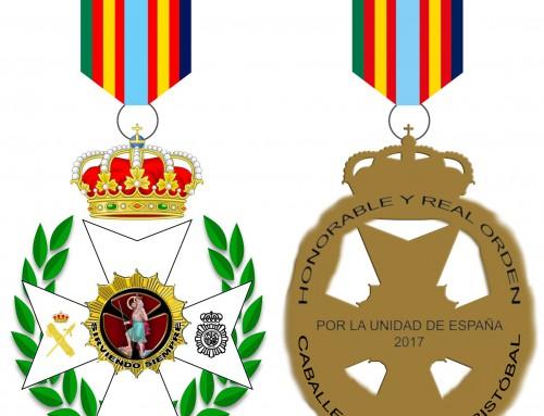Cruz al Mérito por la Unidad de España