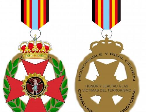 Nueva Cruz al Mérito por la Lucha Antiterrorista